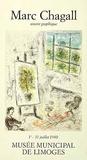 Limoges (Aragon,Malraux) Print by Marc Chagall