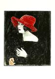 Bildnis Frau Martha Dix, c.1923 Sammlerdrucke von Otto Dix