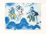 Die Gefährten Charlots, c.1939 Posters by Marc Chagall