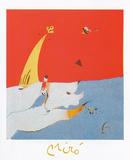 Paysage, c.1924-25 高品質プリント : ジョアン・ミロ