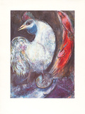 Der Hahn Collectable Print by Marc Chagall