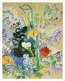 Strauß Aronstab, c.1939-40 Kunstdrucke von Raoul Dufy