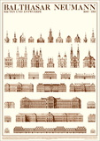 Planned and Unfinished Buildings Posters by Balthasar Neumann
