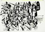 156-157 (One Cent Life) Collectable Print by Jean-Paul Riopelle