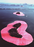 Surrounded Islands, Biscayne Bay, Miami Poster von  Christo