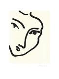 Femme II (Nadia au menton) Prints by Henri Matisse