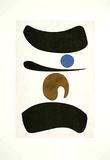 Tori mit blauem Punkt, c.1937 Collectable Print by Willi Baumeister