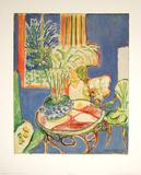 Petit interieur en bleu, c.1947 Posters par Henri Matisse