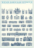 Baroque Architecture of Vienna Print