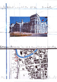 Reichstag XXI Prints by Christo 