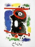 Tête J Posters by Joan Miró