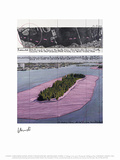 Surrounded Islands, Miami II Collectable Print by  Christo