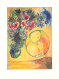 Sonne und Mimosen Posters by Marc Chagall