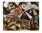 Rain Prints by Marc Chagall