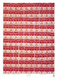 100 Campbells Dosen Prints by Andy Warhol