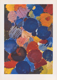Ekstatisches Blau Collectable Print by Ernst Wilhelm Nay