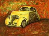 Das Auto Collectable Print by Rubens Gerchmann