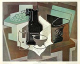 Le sac de cafe Print by Juan Gris