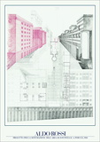 Project for Perugia, 1983 Prints by Aldo Rossi