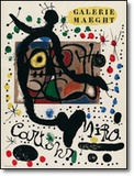 Cartoon Poster by Joan Miró