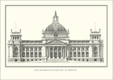 Reichstag, Berlin Prints by Paul Wallot