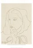 Ritratto di donna con cappuccio Art par Henri Matisse