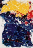 The overyellow Art by Sam Francis