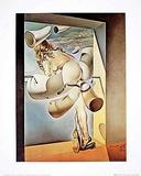Jeune Vierge sodomisée Affiche par Salvador Dalí