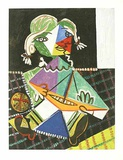 Kleines M&#228;dchen mit Boot, c.1938 Collectable Print by Pablo Picasso