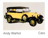 Cars, Mercedes Typ 400, Bj., c.1925 Poster by Andy Warhol