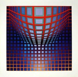 Kezdi-Vega Prints by Victor Vasarely