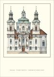 St. Nicholas Church, Malá Strana, Prague Posters
