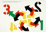 140-141 (One Cent Life), Four Winds Collectable Print by Robert Indiana