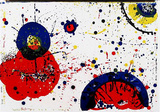 78-83 (One Cent Life) Collectable Print by Sam Francis