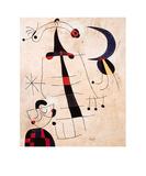 Klage der Liebenden Poster by Joan Miró
