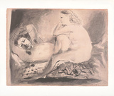 Schlafender, c.1942 Collectable Print by Pablo Picasso