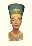 Bust of Nefertiti Art by  Thutmose