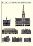 La Grand´Place De Bruxelles Prints