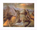 Endloses Raetsel Print by Salvador Dalí