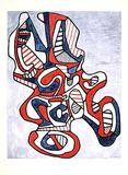 Ciseaux V, c.1967 Posters par Jean Dubuffet