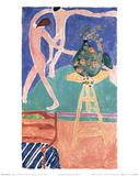 Kapuzinerkresse mit ''der Tanz'' I Poster by Henri Matisse