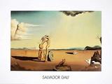 La Femme Nue dans le Desert Póster por Salvador Dalí