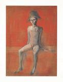 Sitzender Harlekin, c.1905 Sammlerdrucke von Pablo Picasso
