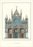 Duomo, Siena Posters