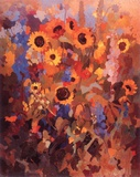 Sonnenblumen 1007 Collectable Print by Margit Jungi