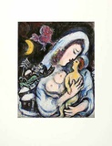 Mutterschaft Collectable Print by Marc Chagall