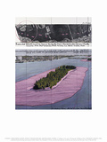 Christo - Surrounded Islands, Miami II Plakát