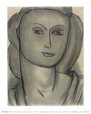 Madame L.B. (Lucienne Bernard), c.1946 Poster by Henri Matisse