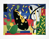Der traurige K&#246;nig/La Tristesse du Roi, c.1952 Prints by Henri Matisse