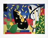 Der traurige König/La Tristesse du Roi, c.1952 Lámina por Henri Matisse